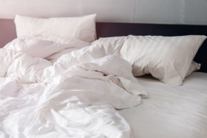 Down Comforters and pillows that can be drycleaned